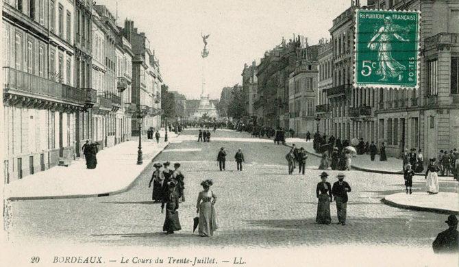1913 - Cours du XXX juillet