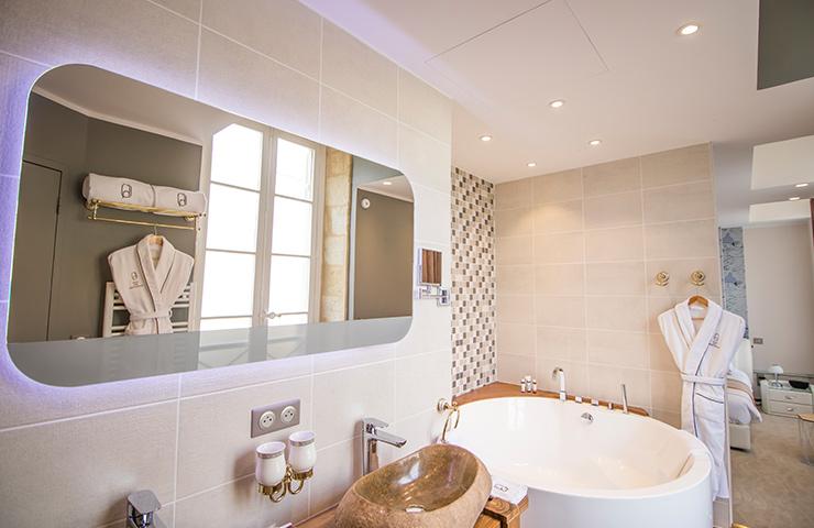 salle de bain Erable hôtel des quinconces