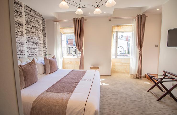 Chambre Grenadille hôtel des Quinconces