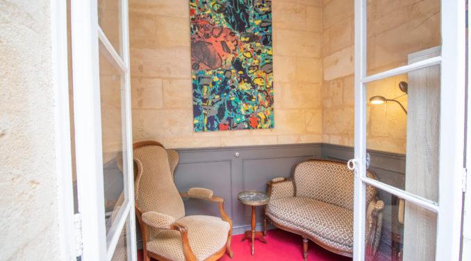 petit salon bordelais hôtel des quinconces