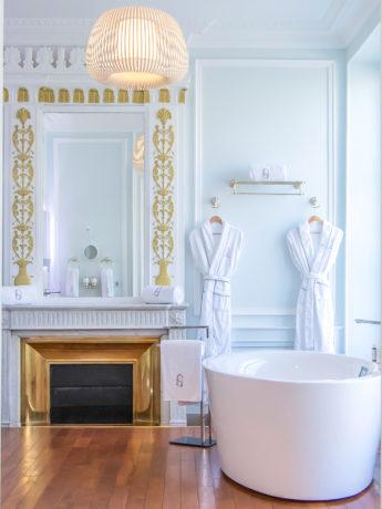 Salle de bain hôtel des quinconces