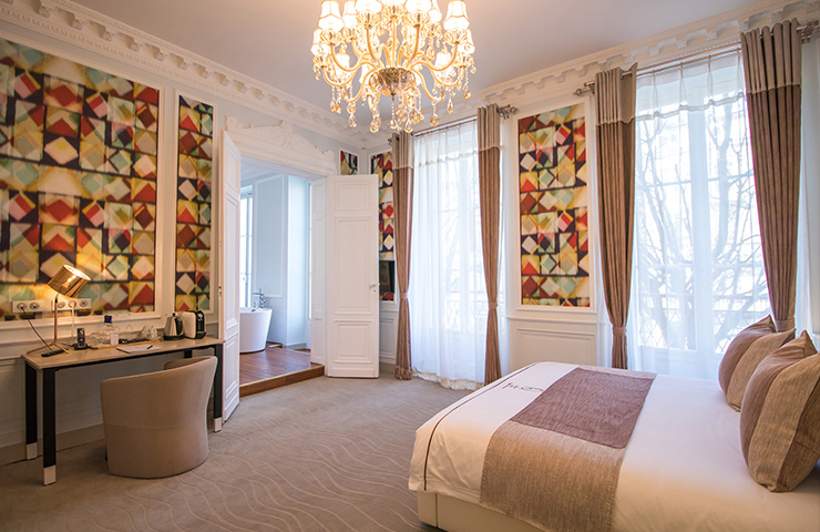 chambre jatoba hotel des quinconces