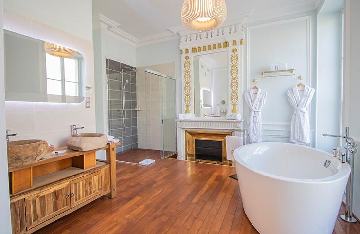 salle de bain Jatoba hotel des quinconces