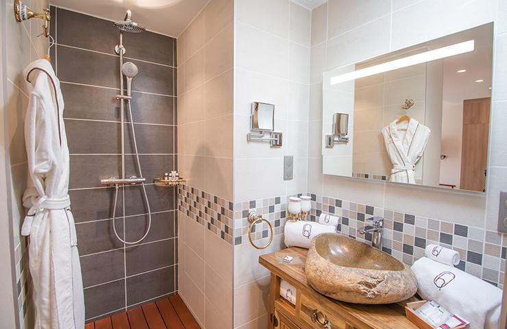 Salle de bain Laurel hotel des Quinconces