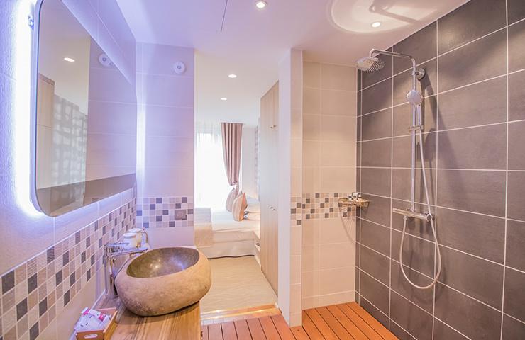 Salle de bain Marronnier hotel des quinconces