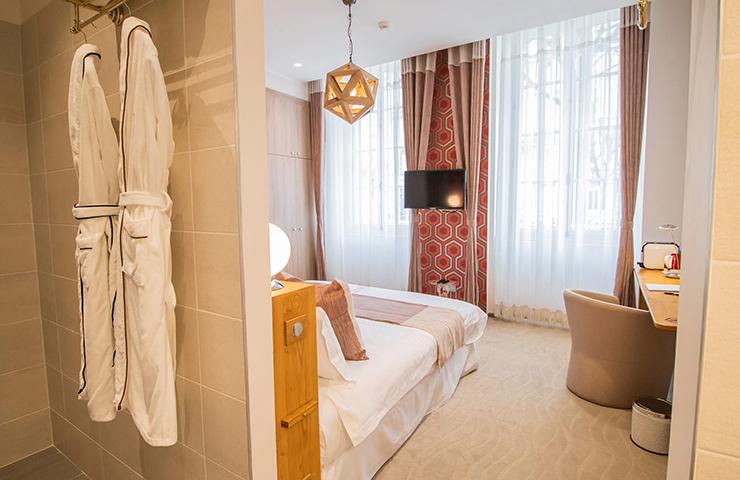 chambre santalum hotel des quiconces