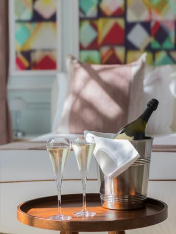 Champagne chambre Jatoba