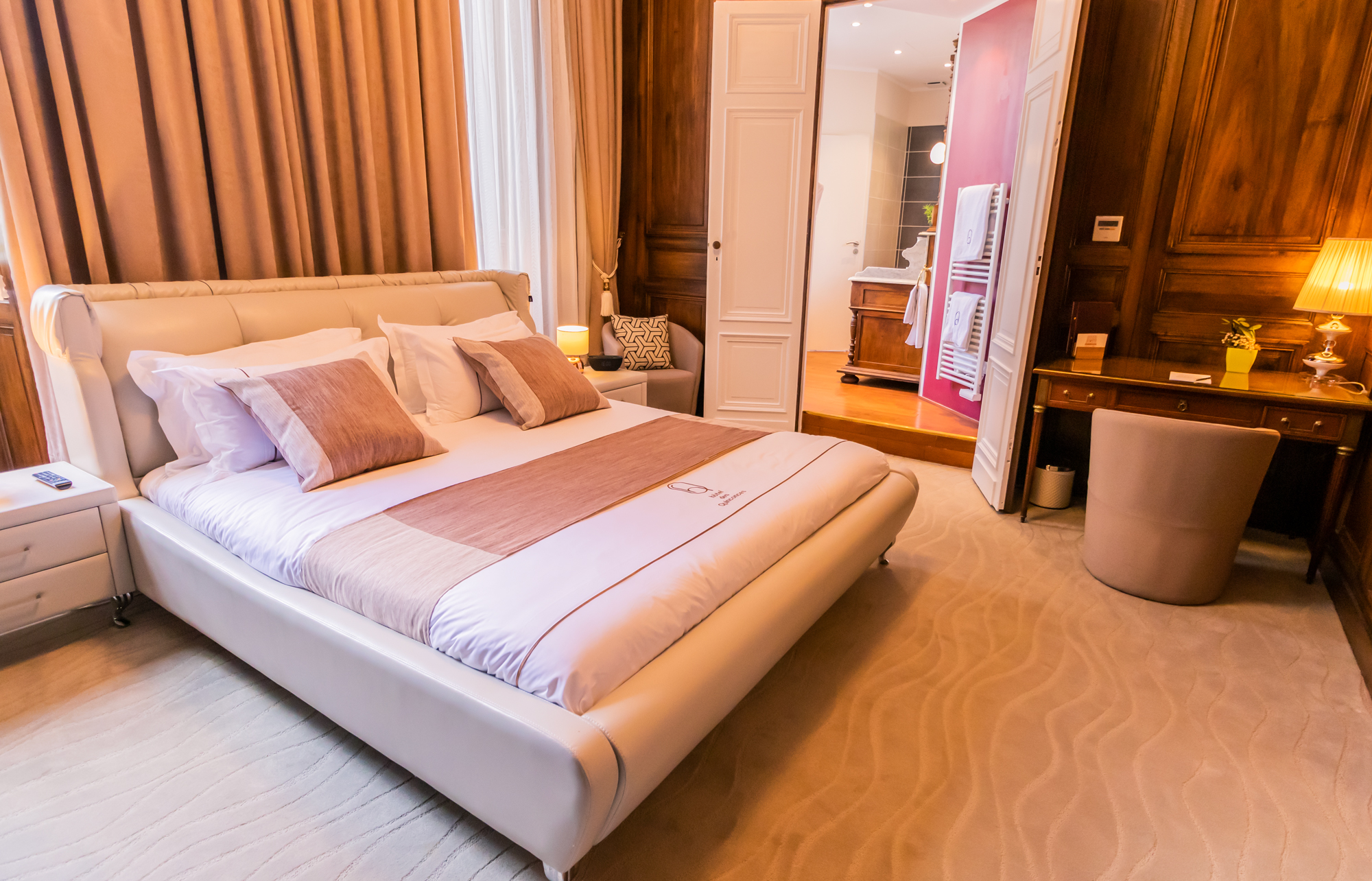 Chambre Noyer hôtel des Quinconces