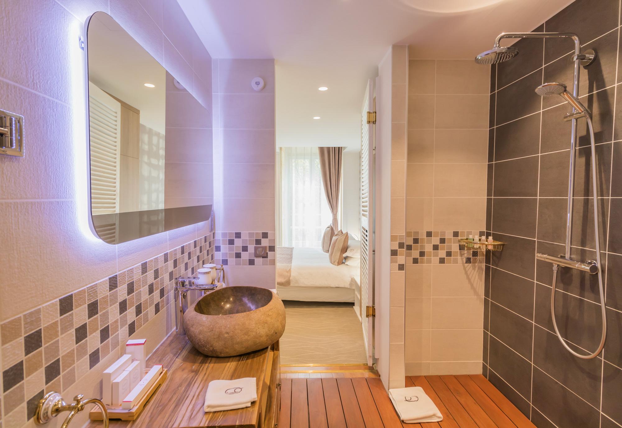 Salle de bain chambre Marronnier