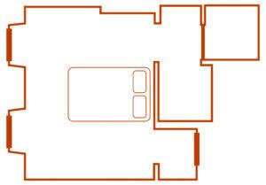 plan chambre santalum
